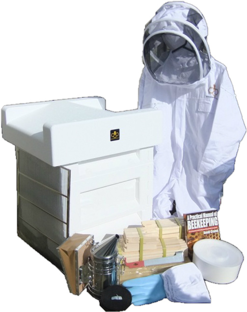 Deep brood National hive, beginners kit