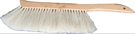 Horse hair bee brush