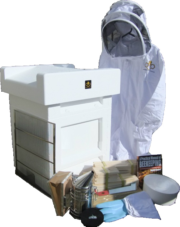 Jumbo (14x12) National hive, beginners kit